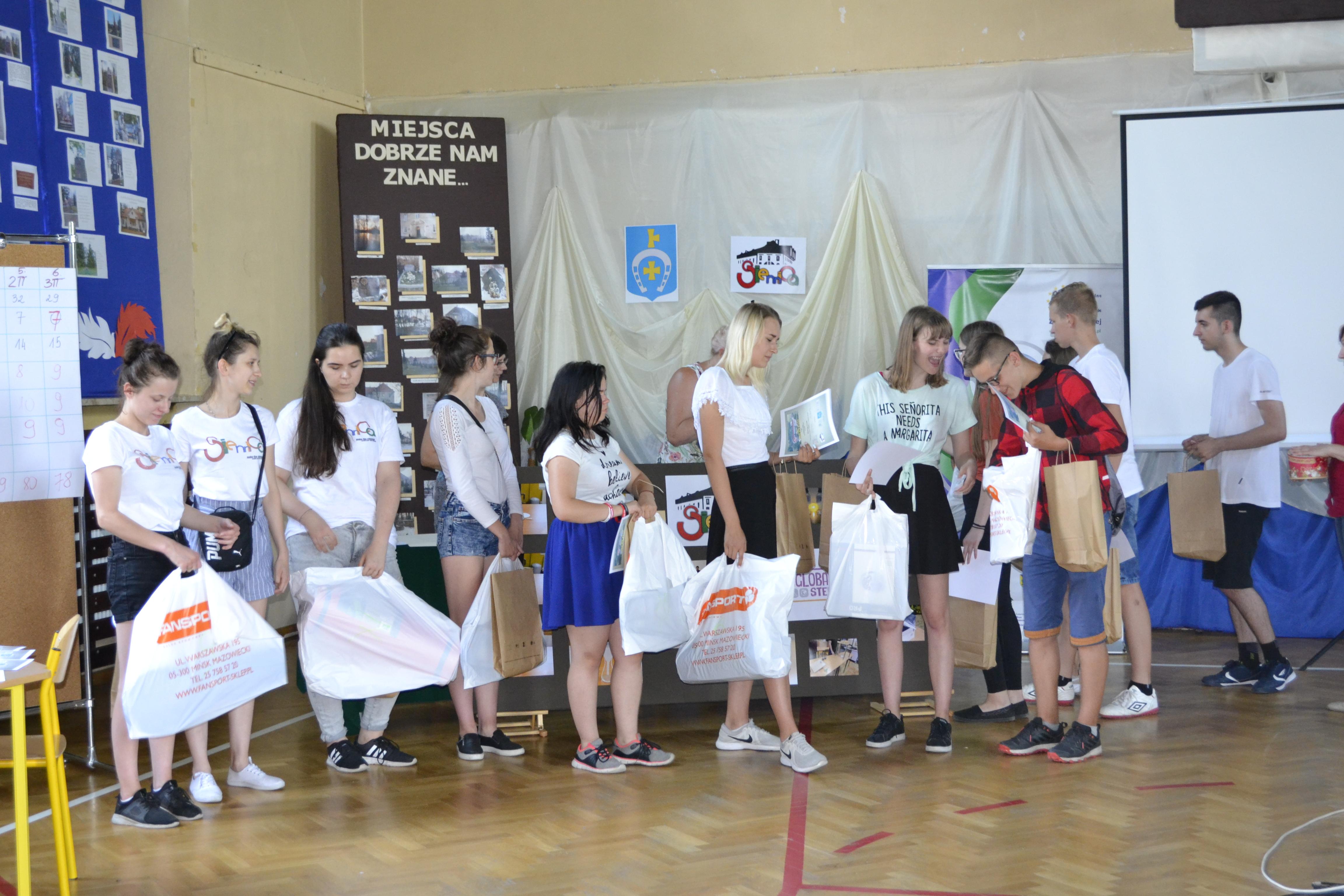 Gminny Turniej Turystyczno – Krajoznawczy dla dzieci i młodzieży