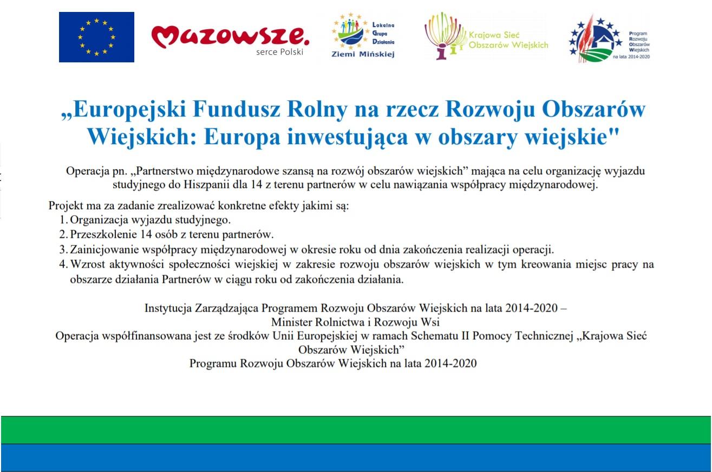 Europejski Fundusz Rolny na rzecz Rozwoju Obszarów Wiejskich: Europa inwestująca w obszary wiejskie
