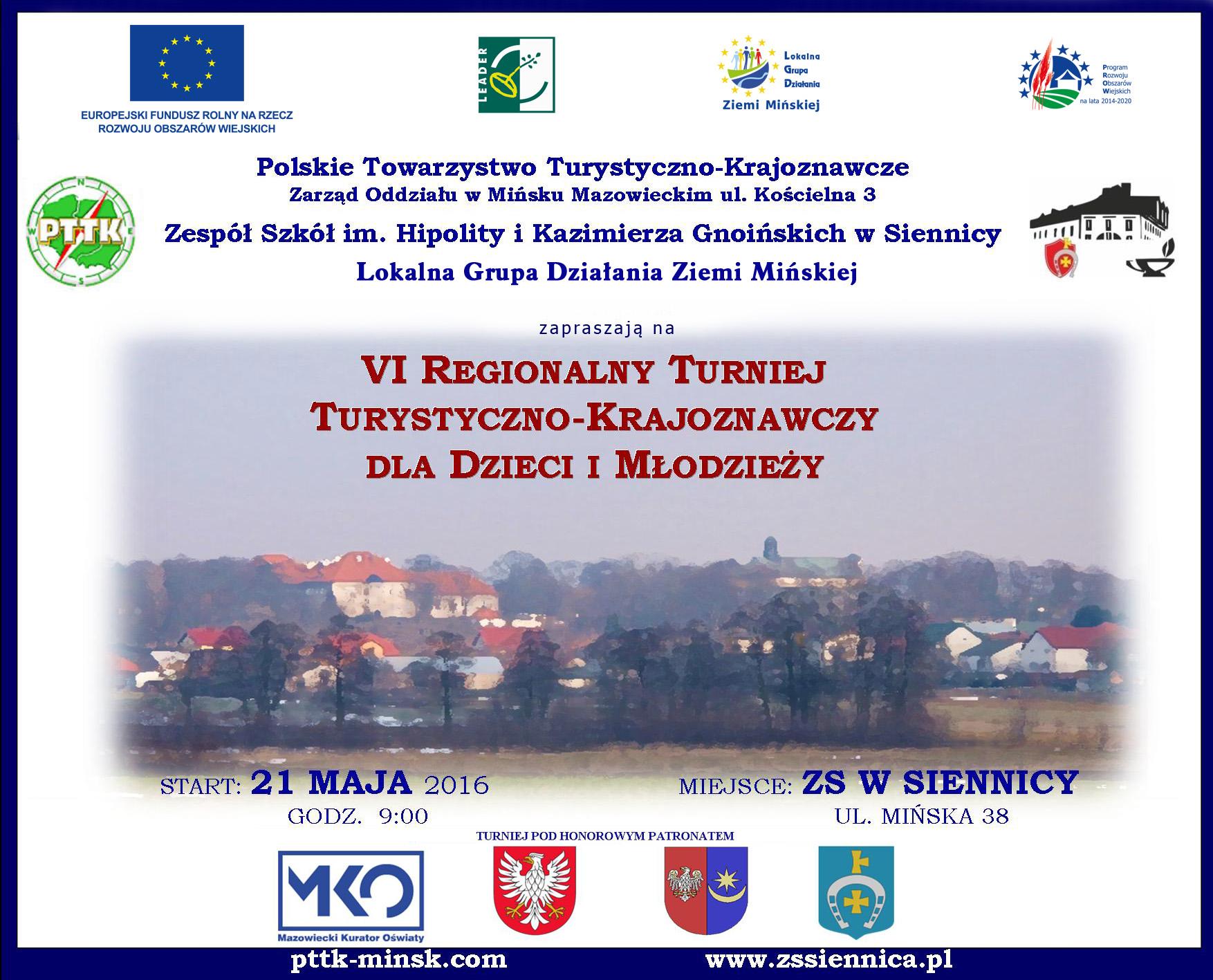 VI Regionalny Turniej Turystyczno-Krajoznawczy